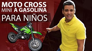 moto cross mini a gasolina 50cc cros para niños enduro nuevas en  Ecuador y Colombia
