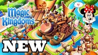 DEFEAT KAKAMORA AND THEIR BOAT! Disney Magic Kingdoms   Gameplay Walkthrough Ep.467