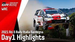 TGR WRT Rally Italy Sardegna 2021 Day 1 Highlights