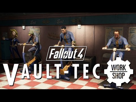 Fallout 4: Vault Tec Workshop DLC All Cutscenes (Game Movie) 1080p HD