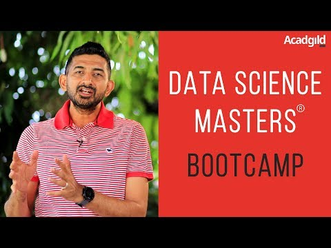 Data Science Masters Course Bootcamp | Data Science Course in India | Vikalp Jain | Acadgild
