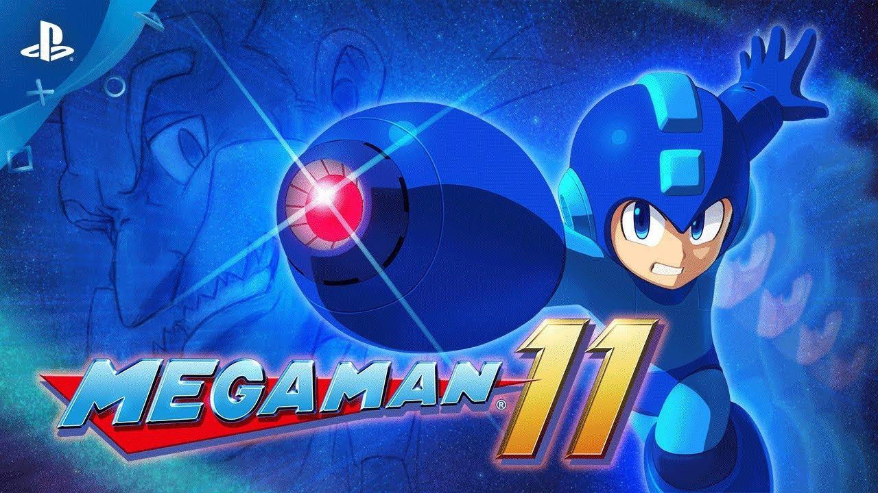 Mega Man 11 Anunciado, Chegará ao PS4 em 2018