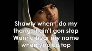 Chris Brown - Too Freaky (W/ Lyrics + Pictures)