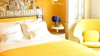 30+ Yellow Bedrooms, Interior Design Ideas