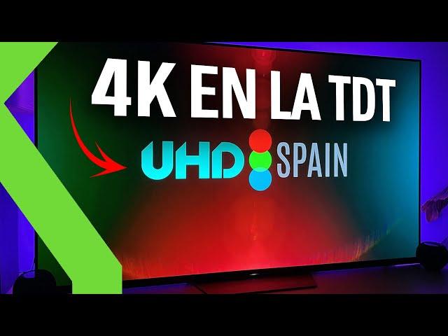 ¡LLEGA EL 4K Y HDR A LA TDT!! Con UHD Spain ya puedes sintonizarlo en tu Smart TV