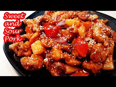 KFC STYLE SAVORY SWEET AND SOUR PORK!!!