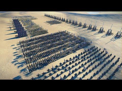 THE GRAND SIEGE - Total War: THREE KINGDOMS (4K Gameplay)