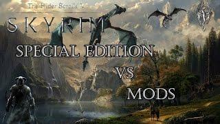 Нужен ли новый Скайрим? Уникальное сравнение графики Skyrim Special Edition и Skyrim с модами в 4K