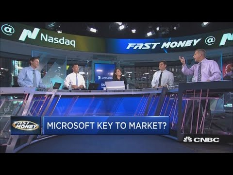 Here's what Microsoft's big breakout means for the markets