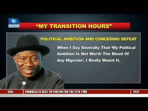 Goodluck Jonathan Writes On Obama, APC, Economy, Travails