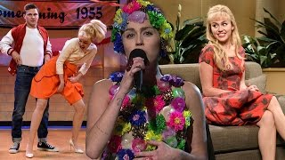 Miley Cyrus' SNL Hosting Highlights - Mocks Ariana Grande & Scandals