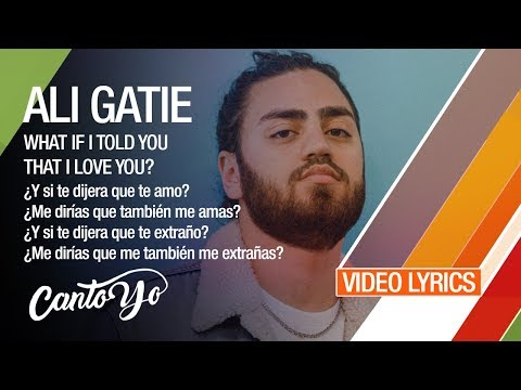 Download Ali Gatie - What If I Told You That I Loved You (Lyrics + Español) Video Oficial Mp4 HD Video and MP3