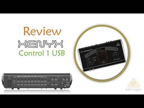 Review Controlador de Monitores Xenyx Control 1 USB