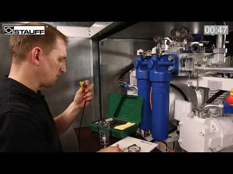 STAUFF TEST Anwendung analoge SPG Manometer