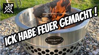 Die neue Feuerstelle im Garten - Feuerhand Tyropit - UNBOXING- 030 BBQ