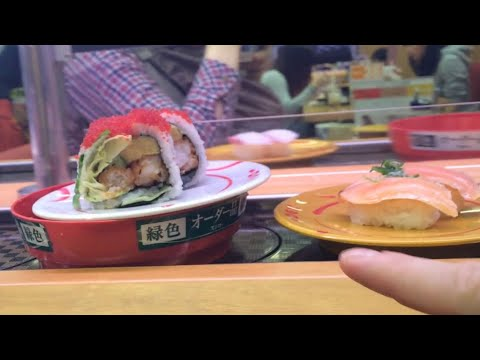 Video How to order, eat and pay for sushi in Japan (at a conveyer belt sushi restaurant)
