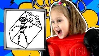 ПАПА Амельки заколдован в Лего! Что поможет расколдовать: Магические заклинания или Ведьма Лего?