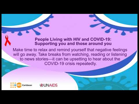 AUDIO message on People Living with HIV: Supporting you and those around you – Relax