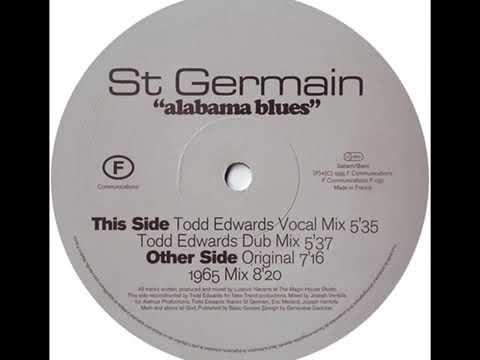 St Germain - Alabama Blues (1965 Mix) 129Bpm - Vinyl
