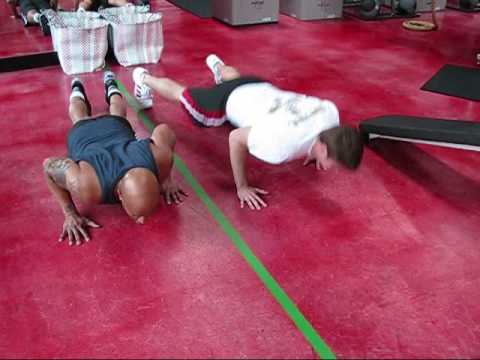 Challenging Fat Loss Exercise:  Alligator Crawls