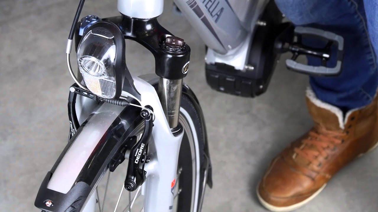 Voorvork vering afstellen elektrische fiets