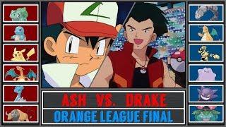 Ash vs. Drake (Pokémon Sun/Moon) - Orange League Final