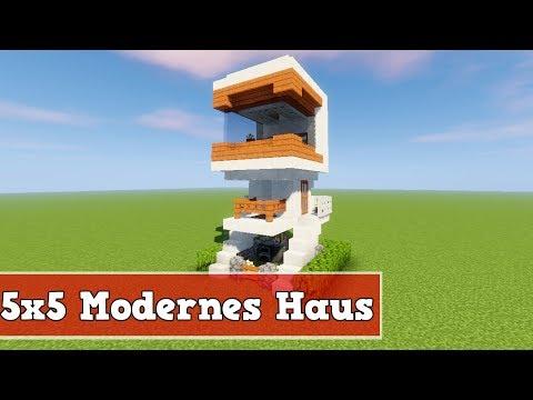 Wie Baut Man Ein Kleines Modernes Haus In Minecraft Minecraft