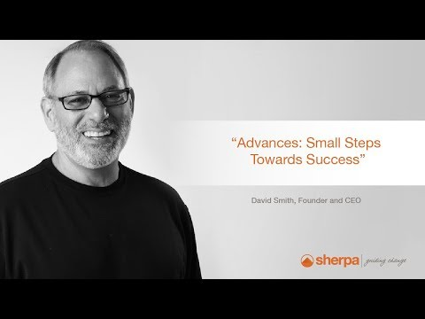 David's Sales Tips: Advances, Small Steps Towards Success