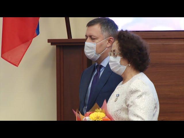 Ангарские врачи получили государственную награду
