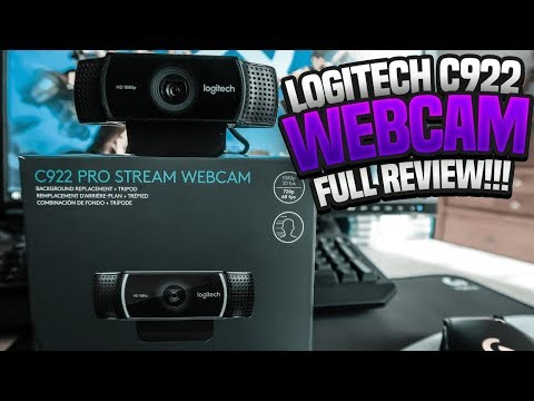 Logitech C922 Review – The Best Pro Webcam For Streaming!