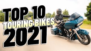 Top 10 Touring Motorcycles 2021!