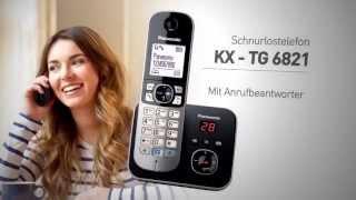 PANASONIC KX-TG6821UA DECT telefon