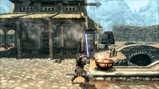 Skyrim - Lightsabers Mod