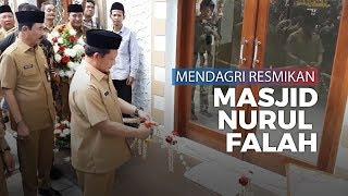 Resmikan Masjid Nurul Falah, Tito Berharap Diisi Kajian kajian Ibadah Paralel dengan Pancasila
