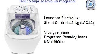 Lavadora Electrolux Silent Control 12 kg (LAC12) - Programa Pesado/Jeans