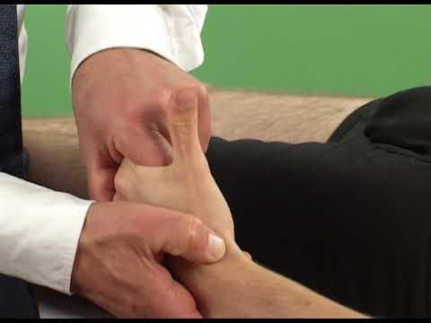 Fájdalom a bal lábízületben