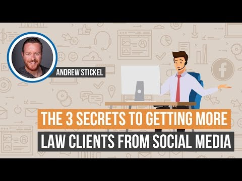 Facebook Advertising For Lawyers: The 3 Secrets to Getting More Law Clients From Social Media