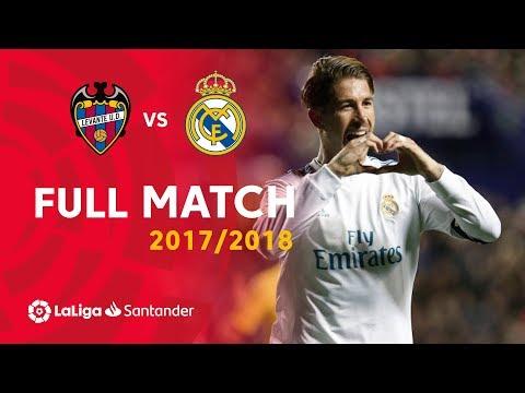 Full Match Levante UD vs Real Madrid LaLiga 20172018