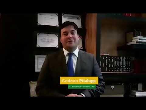 Palavra do Ex-Presidente AJEE - Gedeon Pitaluga