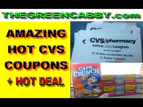 , title : 'AMAZING HOT NEW CVS COUPONS + GREAT DEAL ( EXTREME COUPON )'