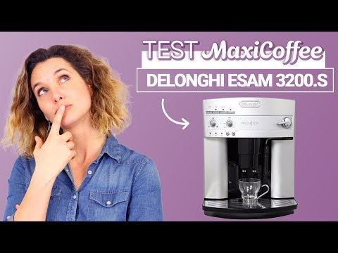 DELONGHI MAGNIFICA ESAM 3200.S | Machine à café automatique | Le Test MaxiCoffee