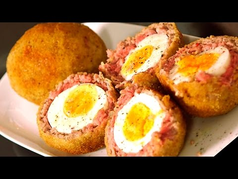 Receta: Huevos a La Escocesa
