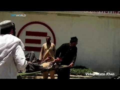 Car bomb hits bank in Afghanistan's Lashkar Gah city