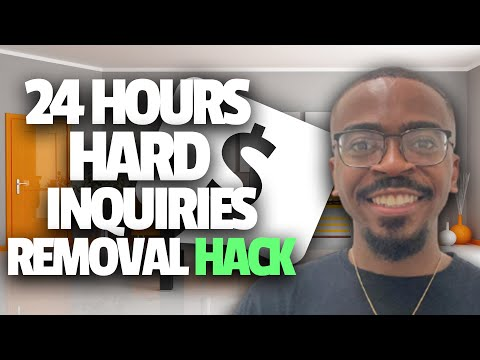 Experian 24 Hour Hard Inquiry Removal Hack