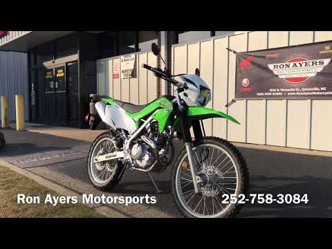 2020 Kawasaki KLX 230 in Greenville, North Carolina - Video 1
