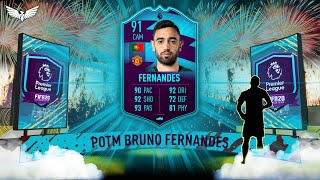 91 RATED BRUNO FERNANDES POTM SBC - Bruno Premier League Player of the Month - FIFA 20 Ultimate Team