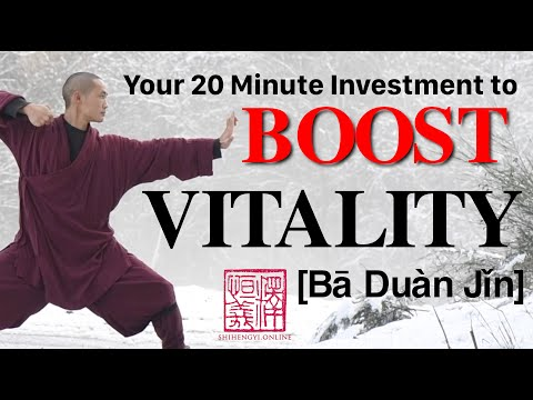 Shaolin Qi Gong 🙆🏻♂️ 20 Minute Daily Morning Routine 🙆🏻♀️ 八段锦 Ba Duan Jin (Complete Form)