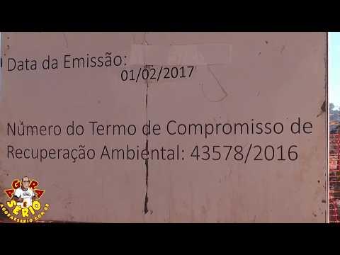 Sistema Produtor São Lourenço x Obra na Favela do 72 em Juquitiba placa da Cetesb