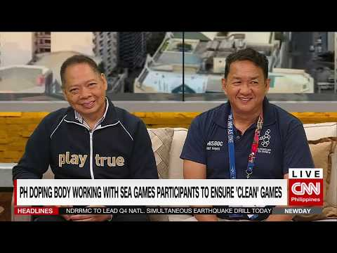 PH doping body working with SEA Games participants to ensure 'clean' games