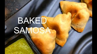 baked samosa recipe with wheat flour